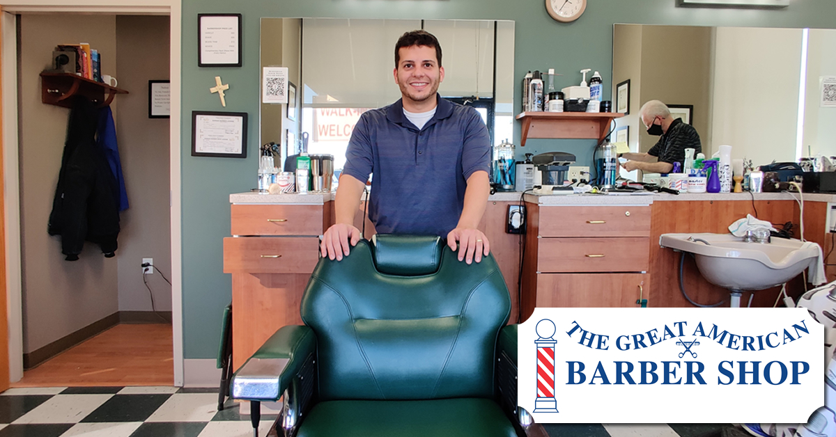 Home The Great American Barber Shop